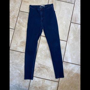 Levi's High Rise Runaround Super Skinny Jean XS